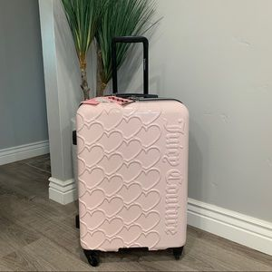 NWT Juicy Couture Heart Collection Suitcase
